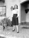 I Want a Divorce, Joan Blondell in Outfit Designed by Edith Head, 1940 Photo