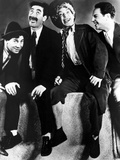 Animal Crackers, Chico Marx, Groucho Marx, Harpo Marx, Zeppo Marx, 1930 Photo