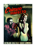 Dial M for Murder, (AKA Crimen Perfecto), Anthony Dawson, Grace Kelly, 1954 Giclee Print