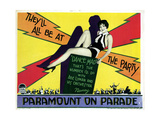 Paramount on Parade, Nancy Carroll, 1930 Giclee Print