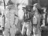 The Lost Patrol, from Left: Victor Mclaglen, Boris Karloff, Douglas Walton, 1934 Photo