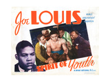 Spirit of Youth, Joe Louis, Clarence Muse, Mantan Moreland, 1938 Giclee Print