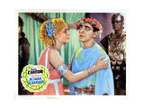 Roman Scandals, from Left, Gloria Stuart, Eddie Cantor, 1933 Giclee Print