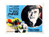 The Big Parade, Title Lobbycard, John Gilbert, 1925 Giclee Print