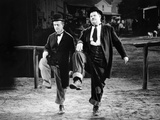 Way Out West, Stan Laurel, Oliver Hardy, 1937 Foto