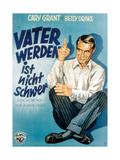 Room for One More, (AKA Vater Werden Ist Nicht Schwer), Cary Grant on German Poster Art, 1952 Giclee Print