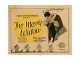 The Merry Widow, from Left: Mae Murray, John Gilbert, 1925 Giclee Print