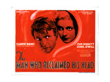 The Man Who Reclaimed His Head, from Left, Claude Rains, Joan Bennett, 1934 Giclee Print