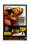 Room at the Top, Australian Poster, from Left: Laurence Harvey, Simone Signoret, 1959 Giclée-tryk
