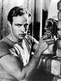 A Streetcar Named Desire, Marlon Brando, 1951, Playing Cards Foto