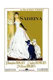 Sabrina, Audrey Hepburn, 1954 Giclee Print