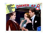 Dinner at Eight, (AKA Dinner at 8), from Left, Marie Dressler, Madge Evans, Phillips Holmes, 1933 Giclee Print