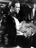 On the Waterfront, Marlon Brando, Eva Marie Saint, 1954 Photo
