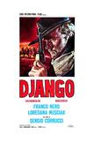 Django, Italian Poster Art, Franco Nero, 1966 Giclee Print