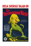 The Lost World, (AKA En Forsvunnen Varld), Swedish Poster Art, 1925 Giclee Print