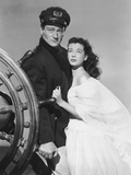 Wake of the Red Witch, from Left: John Wayne, Gail Russell, 1948 Photo