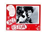 Jazz Festival, Sarah Vaughan, 1956 Giclee Print