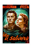 Spellbound, (AKA Io Ti Salvero), from Left: Gregory Peck, Ingrid Bergman, 1945 Giclee Print