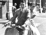 Roman Holiday, Gregory Peck, Audrey Hepburn, 1953 Photo