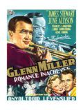 The Glenn Miller Story, (AKA Romance Inachevee), 1954 Giclee Print