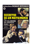 Scenes from a Marriage, (AKA Secretos De Un Matrimonio), Spanish Poster Art, 1973 Giclee Print