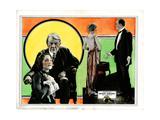 Broken Barriers, from Left, Norma Shearer, George Fawcett, Mae Busch, James Kirkwood, 1924 Giclee Print