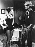 Rio Bravo, Angie Dickinson, John Wayne, 1959 Photo