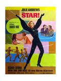Star!, Center: Julie Andrews on French Poster Art, 1968 Giclee Print