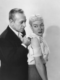 A Bullet for Joey, from Left: George Raft, Audrey Totter, 1955 Photo