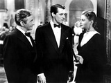 Notorious, Claude Rains, Cary Grant, Ingrid Bergman, 1946 Photo