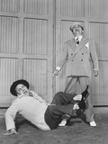Hellzapoppin', from Left: Chic Johnson, Ole Olsen, 1941 Photo