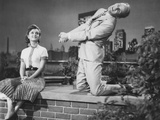 Give a Girl a Break, from Left: Debbie Reynolds, Bob Fosse, 1953 Photo
