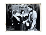 Roughshod, from Left. Helen Ferguson, Ruth Renick, Buck Jones, 1922 Giclee Print
