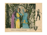 Robin Hood, from Left: Douglas Fairbanks, Sr., Enid Bennett, 1922 Giclee Print