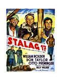 Stalag 17, (Belgian Poster Art), 1953 Giclee Print