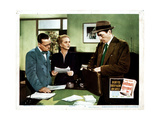 Gentleman's Agreement, from Left, Ransom Sherman, Celeste Holm, Gregory Peck, 1947 Giclee Print