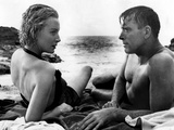 From Here to Eternity, Deborah Kerr, Burt Lancaster, 1953 Photo