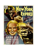 Non-Stop New York, (AKA New York Express), 1937 Giclee Print