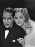 Fast and Furious, from Left: Franchot Tone, Ann Sothern, 1939 Foto