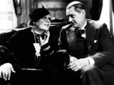 Dinner at Eight, Marie Dressler, Lionel Barrymore, 1933 Photo