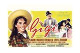 Gigi, Leslie Caron, Maurice Chevalier, Louis Jourdan, Leslie Caron, 1958 Giclee Print