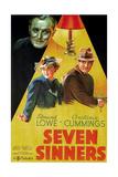 Seven Sinners, (AKA Doomed Cargo), 1936 Giclee Print