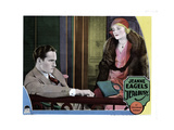 Jealousy, from Left, Fredric March, Jeanne Eagels, 1929 Giclee Print
