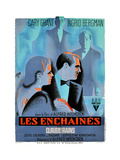 Notorious, (AKA Les Enchaines), 1946 Giclee Print