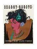 Black Narcissus, (AKA Czarny Narcyz), Polish Poster Art, 1947 Giclee Print