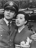 Sayonara, from Left: Marlon Brando, Miiko Taka, 1957 Photo