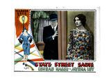 State Street Sadie, from Left, Conrad Nagel, Myrna Loy, 1928 Giclee Print