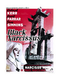 Black Narcissus, (AKA Le Narcisse Noir), Belgian Poster, Deborah Kerr, 1947 Giclee Print