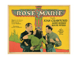 Rose-Marie, from Left, House Peters, Joan Crawford, James Murray, 1928 Giclee Print