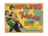 The Pagan, from Left: Renee Adoree, Ramon Novarro, 1929 Giclee Print